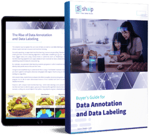 Shaip Buyer's Guide Data Annotation