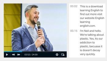 Video Transcription - Cv