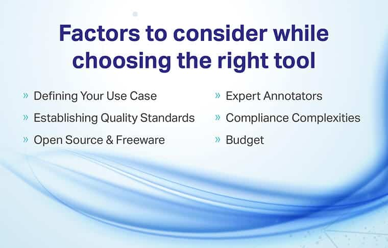 Factors To Consider While Choosing The Right Tools