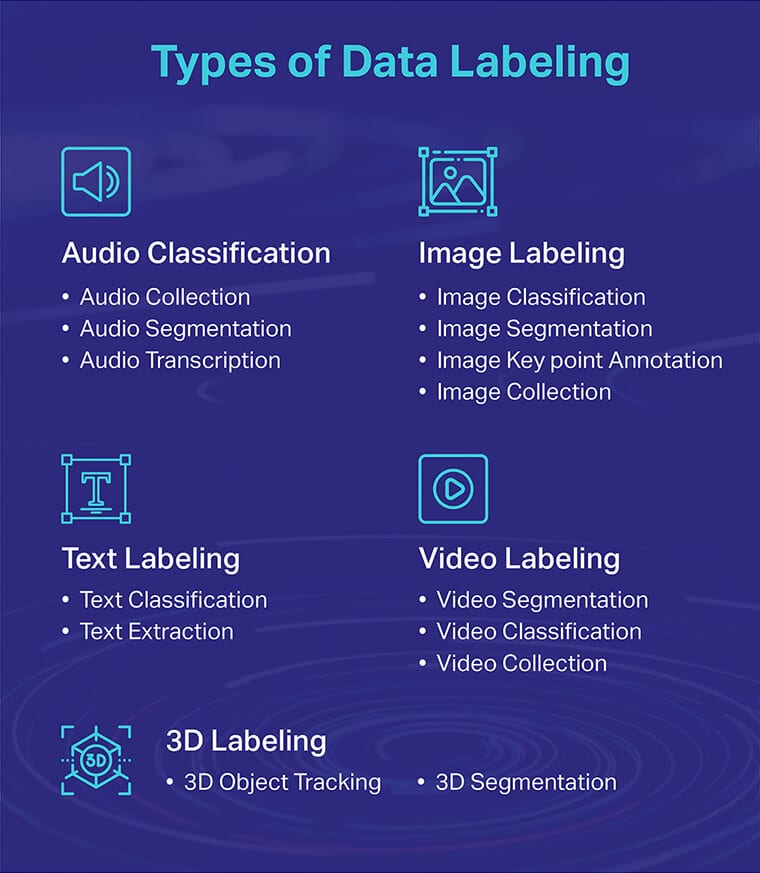 Types Of Data Labeling
